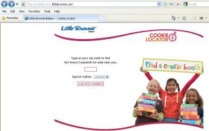 Cookie Locator Screen Shot