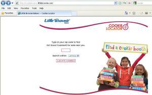 Cookie Locator Screen Shot