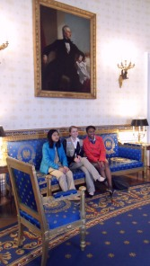 Girl Scouts in White House