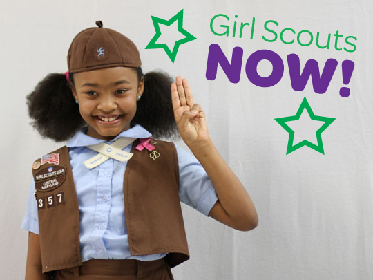 To welcome more girls into the world of girl scouting girl scouts