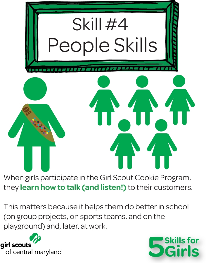 Girl Scouts have people skills!