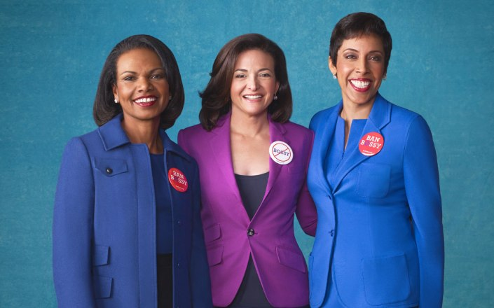 Condoleezza Rice, Sheryl Sandberg and Girl Scouts CEO Anna Maria Chávez: Let's Ban Bossy