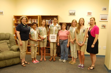 AB Girl Scouts at OBI et Animailers 007