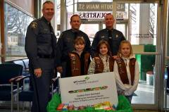 Troop 2 Delivers Cookies from the Heart 3