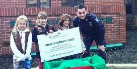 Troop 2 Delivers Cookies from the Heart 8