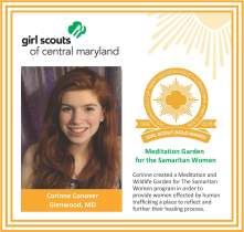 Gold Award for facebook Corinne Conover