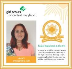 Gold Award for facebook Laura Silverman