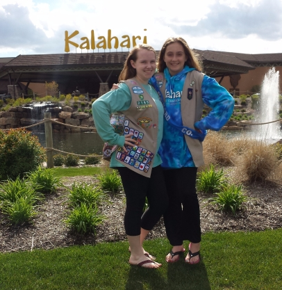 Erin & Morgan at Kalahari