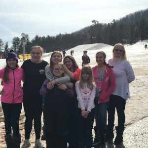 Feb. 11, 2017 Snow Tubing trip Wisp Resort