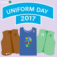 GS Uniform Day Patch 2017