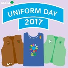 GS Uniform Day Patch 2017