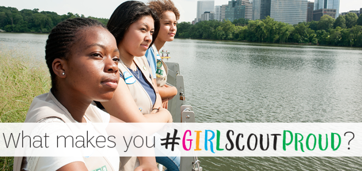 GIRLScoutProud